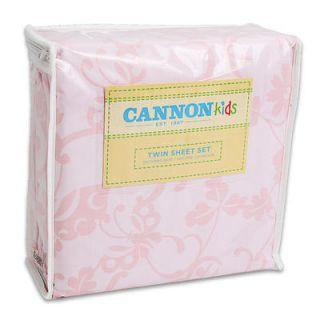 Cannon Princess Twin Bedding Set Twin Comforter Pillow Sham Twin Sheet