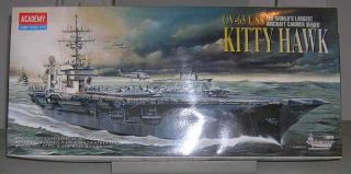 Academy 1 800 USS Kitty Hawk CV 63 Model Kit