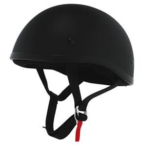 Skid Lid Original Motorcycle Helmet Flat Black Small