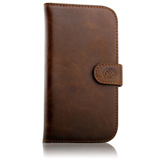 Naztech Klass Premium Luxury Synthetic Leather Wallet Case for Samsung