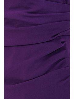 Alexon Purple chiffon cross front dress Purple