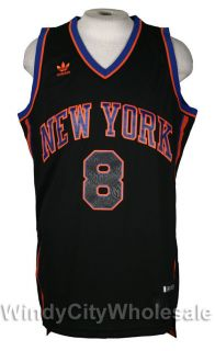 Knicks Danilo Gallinari Jersey Adidas NBA New Black XL