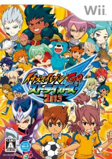 Inazuma Eleven Go 2 Strikers 2013 for Nintendo Wii Japan Import Video