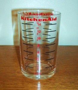 KitchenAid A 9 Coffee Grinder Mill Measure Glass New