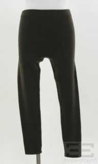 Karan 2 PC Brown Cashmere Knit Sweater Leggings Set Size Small