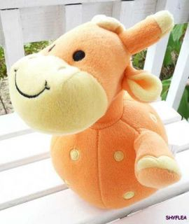 Koala Baby Giraffe Roly Round Infant Toy Musical Bells Plush Rattle