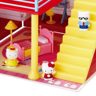Hello Kitty Doll House Set Kids Girls Toy Figure Sanrio Japan