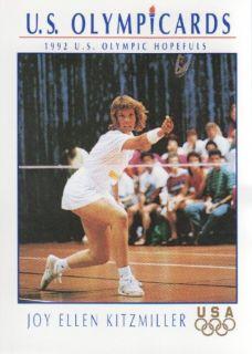 Impel U s Olympic Hopefuls 5 Joy Ellen Kitzmiller Badminton