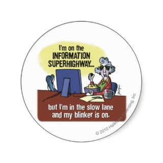 Maxine Information Superhighway Stickers