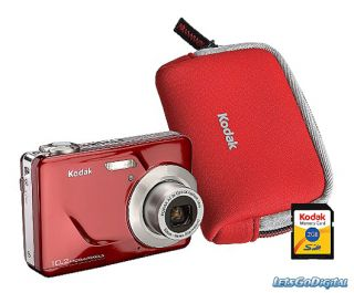 Kodak EasyShare CD80 Red Large Screen Light Weight Easy to Use