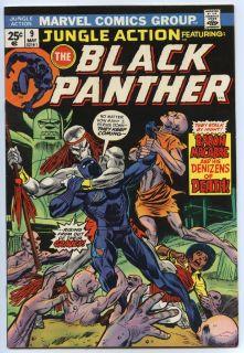 May 1974 Black Panther Gil Kane Klaus Janson Art Marvel Comics