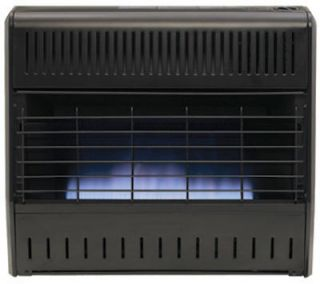 Kozyworld GGD328 30000 BTU Blue Flame Dual Fuel Vent Free Gas Garage