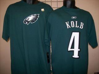 Philadelphia Eagles Kolb Green Jersey T Shirt Sz Small
