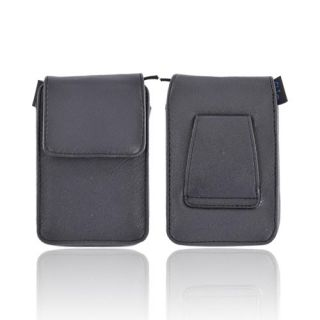 Black Kroo Rio Vet Universal Camera Leather Case Holder