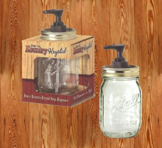 Western Decor Kountry Krystal Ball/Mason Fancy Jar (BBQ Sauce) Soap