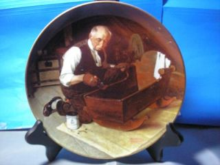 Edwin Knowles Collector Plate Grandpas Gift
