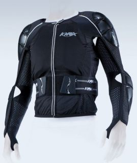Knox Armor Cross Protection Motorcycle Shirt CE Black