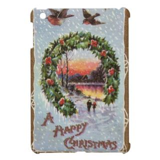 Christmas Vintage iPad Mini case
