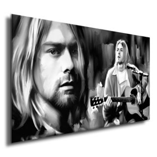 Nirvana Kurt Cobain CD Poster Painting Music Canvas Art Giclee Print A