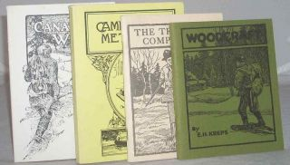 Lot of 4 Hunting Trapping Books Woodcraft Camp and Trail Methods