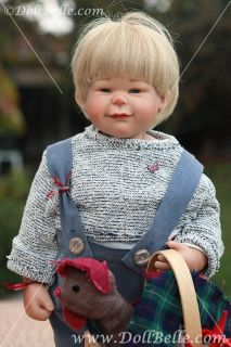 Boy 19.5 VINYL COLLECTIBLE GERMAN doll Artist SUSI EIMER 184 KRISTIAN