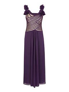 Jacques Vert Black tulip maxi dress Black