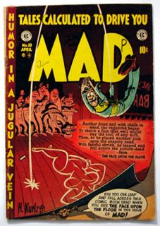Mad 10 Golden Age EC Comic Kurtzman Davis Wood More