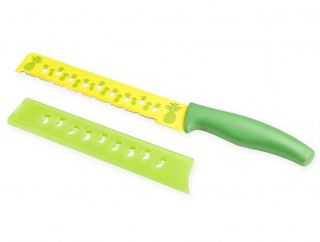 Kuhn Rikon Colori Pineapple Knife Serrated Frut Knife 26076