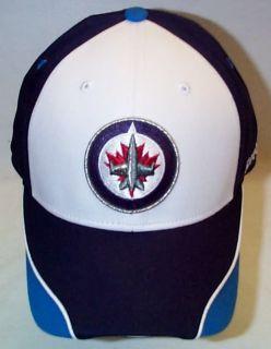 New Reebok Winnipeg Jets Adjustable Velcro Hat