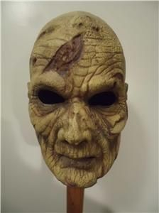 Zombie Mask Signed Robert Kurtzman Evil Dead 2 SPFX Not Freddy Jason