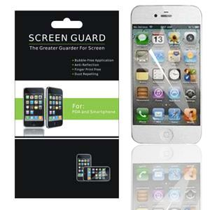 LCD Screen Protector Guard Cover for Apple iPhone 5 5g 6th Gen