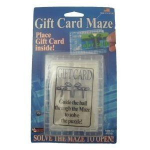 Features of Mag Nif Gift Card Maze Brain Teaser