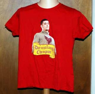 Harry Potter Durnstrang Champion Krum T Shirt Ladies L