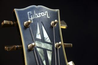 Vintage 69 70 Gibson Les Paul Custom Ebony Fretless Wonder GRLC753