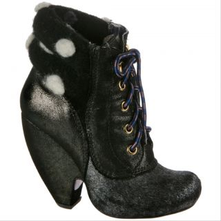 Irregular Choice Krystal Star in Black Womens Boots Booties Various