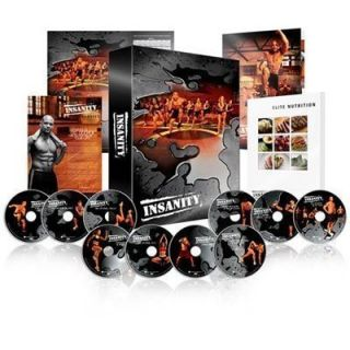 Complete Insanity Workout Full 13 DVDs Box Set