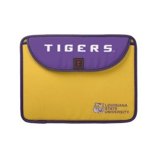 Tiger Head   Louisiana State University MacBook Pro Sleeves