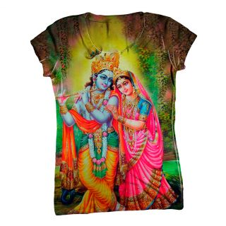 ArtsyClothingCo India Womens Top Ladies T Shirt 1800