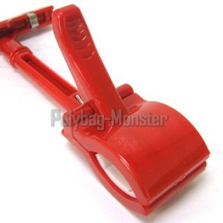 Bright Red Sign Clip Price Label Holder 17cm Long
