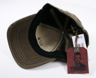 Kurtz Baseball Cap Hat Albert Tan A Flex One Size Fits All Brown