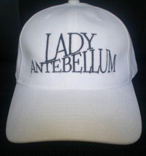 Lady Antebellum Concert Cap Hat
