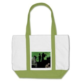 Military Army Style Cotton Canvas Bag