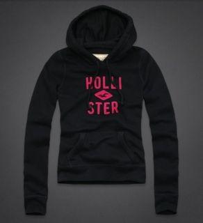 Hollister by Abercrombie Womens Hoodie Sweatshirt Medium Pullover