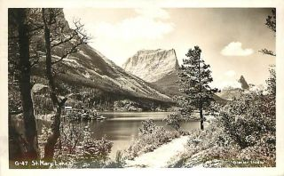 ID Sandpoint St Mary Lake mailed 1949 RPPC R66221