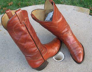 Tony Lama Cowboy Western Boots Mens 7 5D
