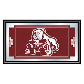 Mississippi State University Bulldogs Logo Frame Mirror