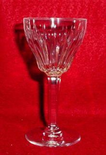Val St Lambert Crystal Zermatt Pattern Cordial Glass