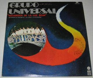 Grupo Universal Recuerdos de La Luz Roja LP Cumbia