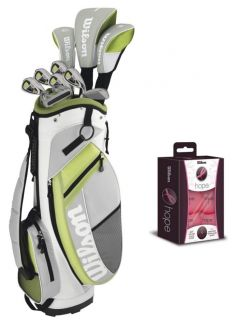 Wilson Ultra Womens Ladies Right Handed Complete Golf Club Set w Bag 6