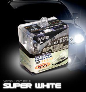 Xenon Super White Fog Light Bulbs BMW E36 88 98 MX5 01 03